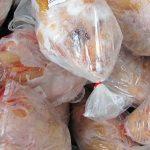 ضبط وامحاء ۲۵۰ کیلوگرم مرغ گرم منجمد تاریخ مصرف گذشته