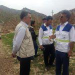 حضور کارکنان بهداشت و درمان صنعت نفت در سیل لرستان