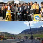 افتتاح پل جدید محور خرمآباد- بروجرد/خداقوت استاندار به راهداری لرستان