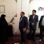 دیدار مدیر مخابرات منطقه لرستان با خانواده شهدا