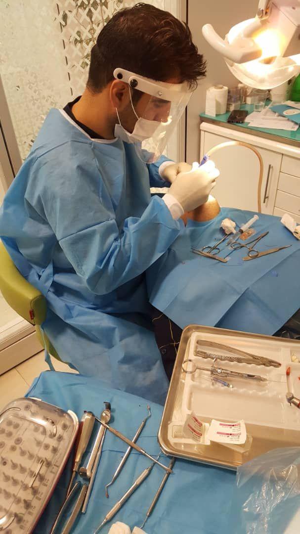 روزانه بیش از ۵۰ دندان در کلینیک کشیده می شود