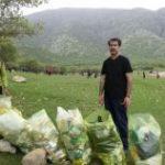 """طرح """" دوباره بی زباله"""" در شهرستان خرم آباد انجام شد"""
