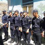 بازدید فرمانده یگان حفاظت زندانهای لرستان از اردوگاه حرفه آموزی و کار درمانی بروجرد