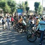 برگزاری همایش پیاده روی خانوادگی و دوچرخه سواری آقایان در ازنا