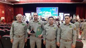 یگان حفاظت محیط زیست لرستان به عنوان یگان حفاظت برتر کشور معرفی شد