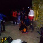 نجات کوهنورد دورودی از قله کول جنو اشترانکوه/ ۶ ساعت عملیات طاقت فرسای هلال احمر