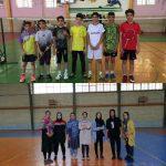  مسابقات بدمینتون استعدادهای برتر نوجوانان لرستان برگزار شد