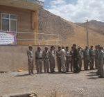 بازدید میدانی رئیس دفتر یگان های حفاظت کل نیروهای مسلح از لرستان