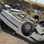 واژگونی خودرو حامل مهندسان اداره کل راه و شهرسازی لرستان در راه بازگشت از شهرستان دلفان