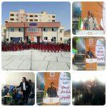 افتتاح مدرسه ۶ کلاسه شهدای  بانک مسکن در الیگودرز