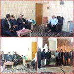دیدار مدیر کل نوسازی مدارس لرستان با پدر شهید ارسلان واشانی