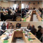 برگزاری جلسه تعیین تکلیف زمین پروژه های مدارس مناطق سیل زده لرستان