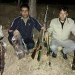 دستگیری باند حرفه ای شکارچیان غیر مجاز در دلفان