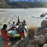 امدادرسانی به ۳۸ خانوار در عملیات مشترک تیم امداد جمعیت هلال احمر و فدراسیون قایقرانی