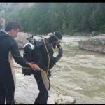 بیرون کشیدن جسد جوان ۲۷ ساله از رودخانه سزار پس از یک هفته تلاش بی وقفه