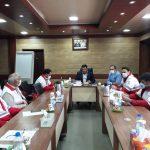 برگزاری جلسه مدیر عامل  جمعیت هلال احمر با حوزه معاونت امداد و نجات استان