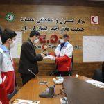 کسب مقام اول جشنواره احسان توسط کانون دانش آموزی معاونت جوانان استان لرستان