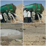 آبرسانی آبشخورهای حیات وحش پلدختر در اوج گرما