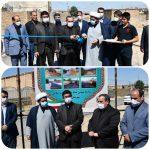 بهره برداری از ۵پروژه اجرای طرح هادی روستایی درشهرستان چگنی