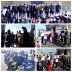 افتتاح مدرسه روستای چشمه شیرین پلدختر