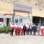  بازدید مدیرعامل جمعیت هلال احمر لرستان از شهرستان دورود