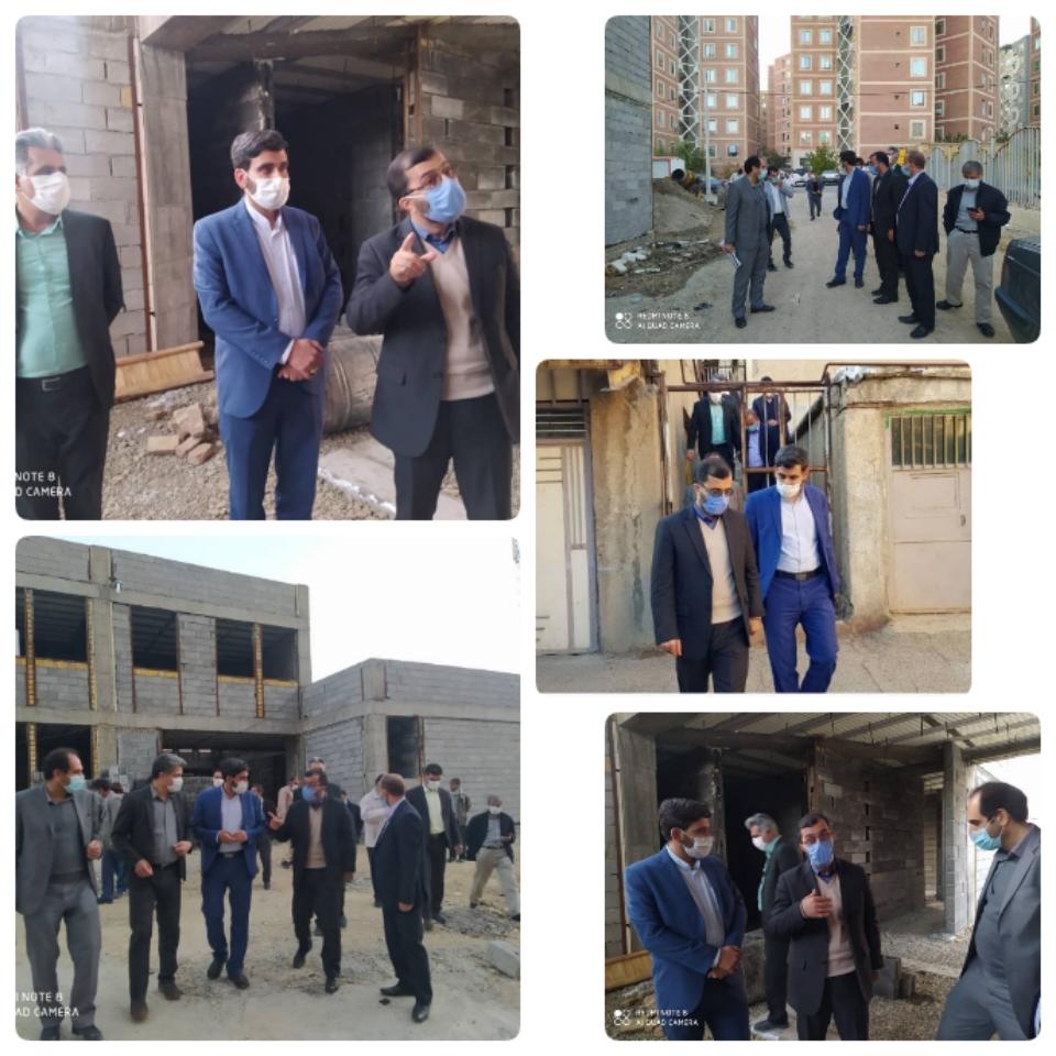 بازدید نماینده مردم بروجرد و اشترینان در مجلس شورای اسلامی از پروژه های نوسازی مدارس لرستان
