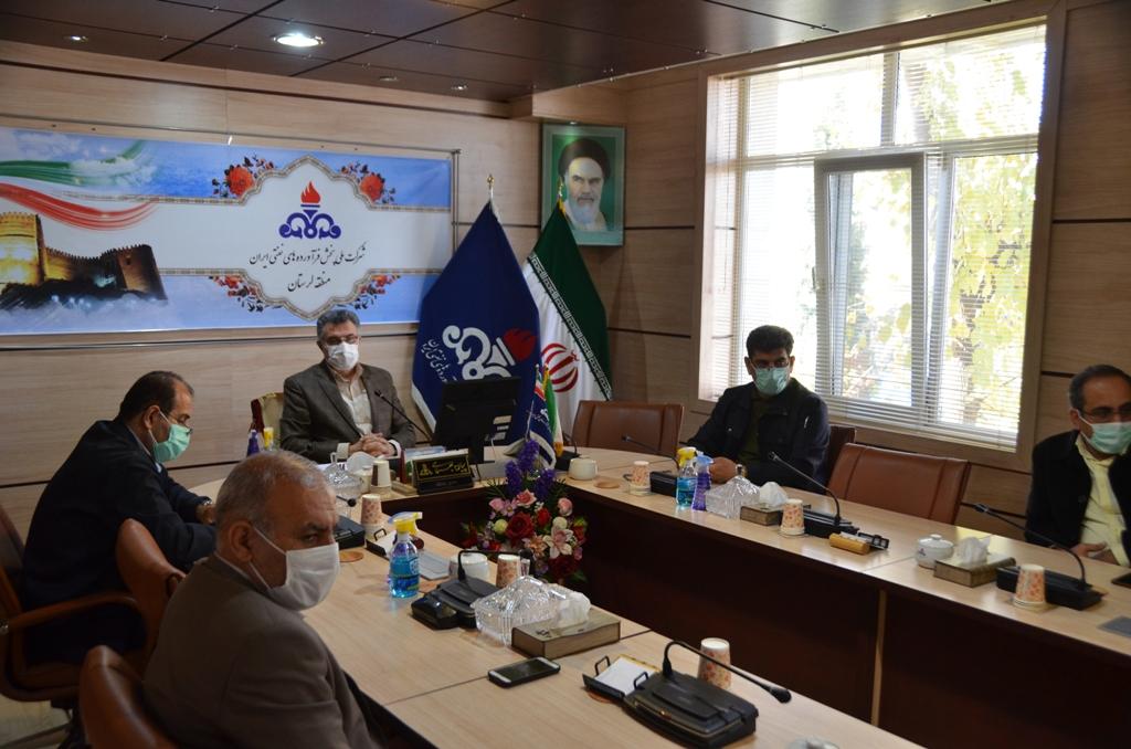 برگزاری جلسه کارگروه تخصصی تامین سوخت و مواد نفتی استان لرستان