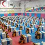 توزیع ۳۵۰ بسته معیشتی به متاثران ناشی از ویروس کرونا در شهرستان بروجرد