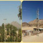 برقرسانی به سه روستای استان در کمتر از ۱۰ روز