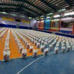 توزیع ۱۶۰۰ بسته معیشتی در بین اقشار آسیب پذیر از ویروس کرونا و نیازمندان