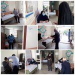 آغاز واكسیناسیون افراد بالای ۸۰ سال در شهرستان خرمآباد