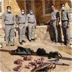 دستگیری شکارچی غیرمجاز در ارتفاعات سفید کوه خرم آباد