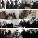 افتتاح کارگاه تولیدی و اشتغالزایی ویژهی زنان سرپرست خانوار و زنان بدسرپرست در فلکالدین و میدان تیر