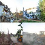 تخریب ۲۰ هکتار اراضی ساخت و ساز غیر مجاز در منطقه کمالوند