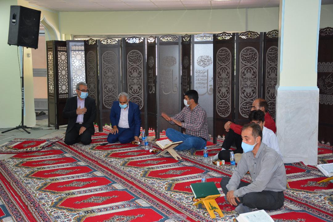 ترویج فرهنگ معارف اسلامی و قرآنی در مخابرات منطقه لرستان